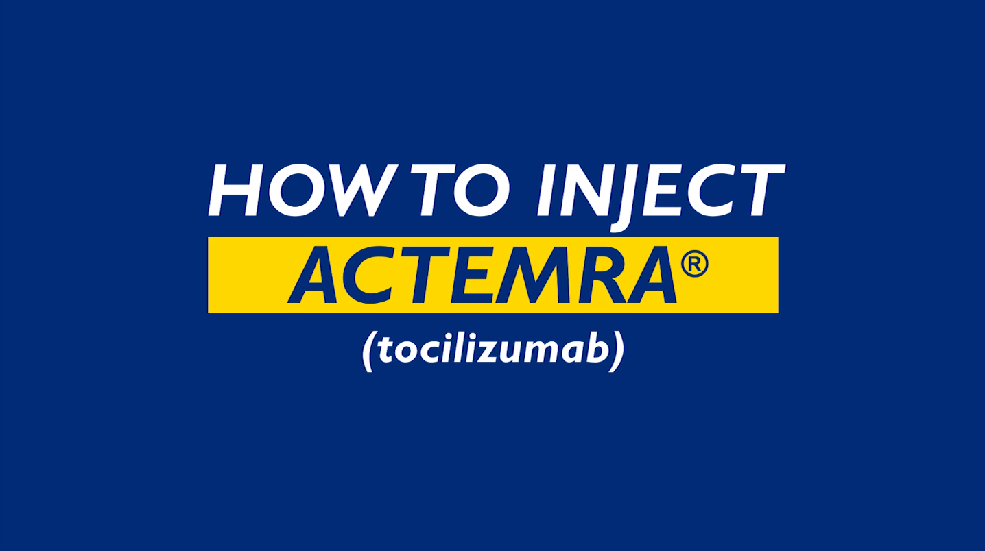 How to Inject Actemra