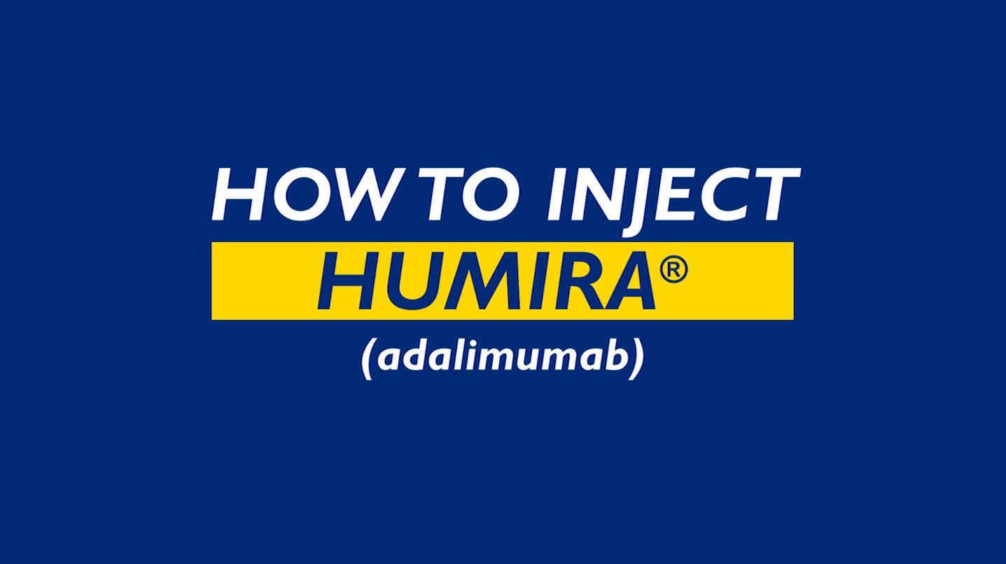 How to Inject Humira