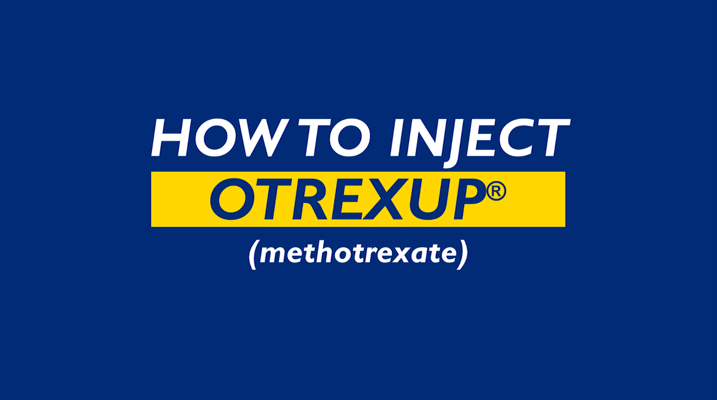 How to Inject Otrexup