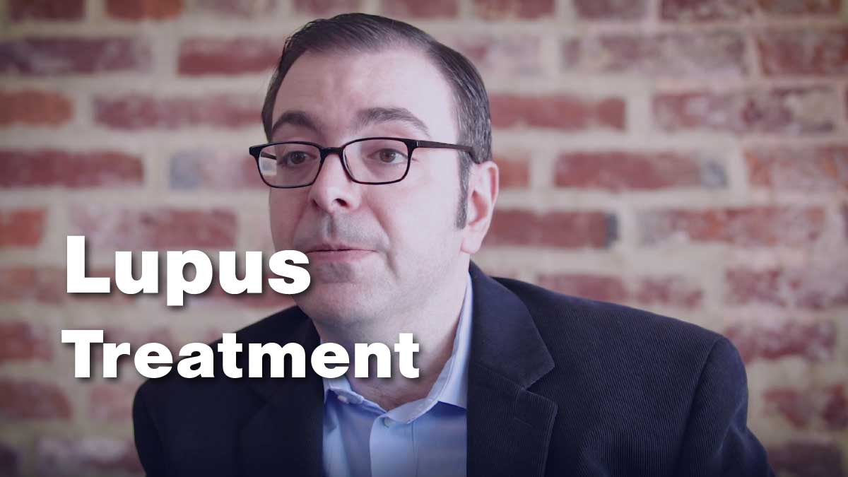 Lupus Treatment Options with Dr. George Stojan with the Johns Hopkins Lupus Center