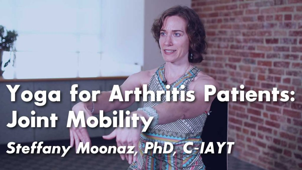 Yoga for Arthritis : Chair Yoga for Improved Mobility