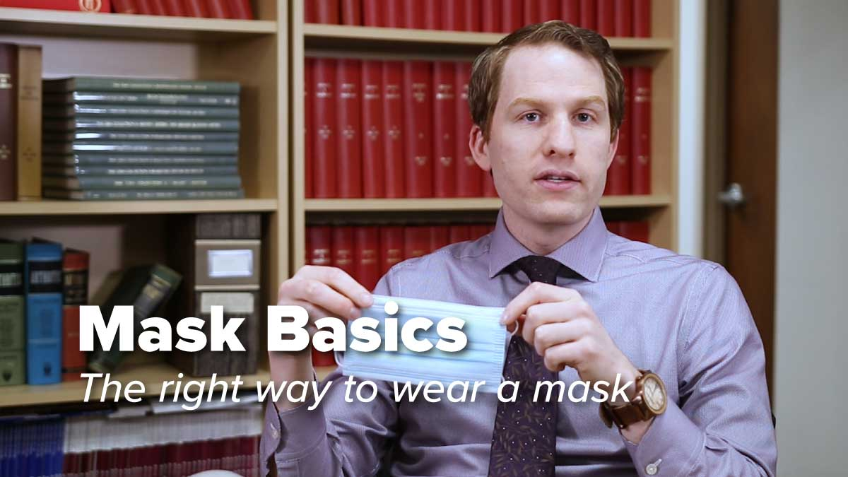 5 Tips to Wearing a Mask the Right Way